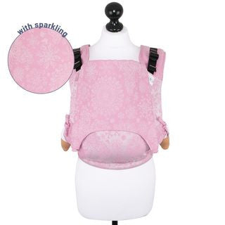 Fidella Fusion Toddler Size Carrier - Ice Butterfly Sparkling Rose