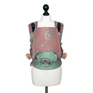 Fidella Fusion Toddler Size Carrier -Russet Jade Bamboo