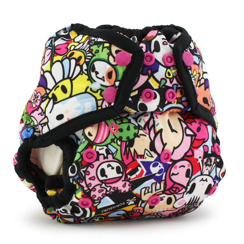 Tokidoki x Kanga Care Rumparooz Cloth Diaper Cover - TokiJoy (Phantom trim)