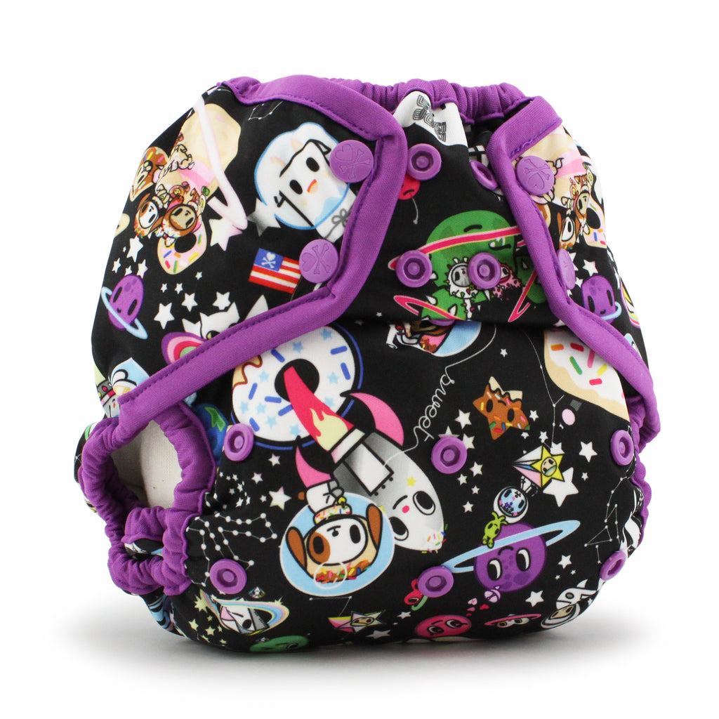 Tokidoki x Kanga Care Rumparooz Cloth Diaper Cover - TokiSpace (orchid trim)