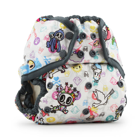 Tokidoki x Kanga Care Rumparooz Cloth Diaper Cover - TokiBambino (Castle trim)