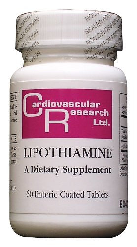 Cardiovascular Research - Lipothiamine, 60 tablets - ShopAirPurifier.com
