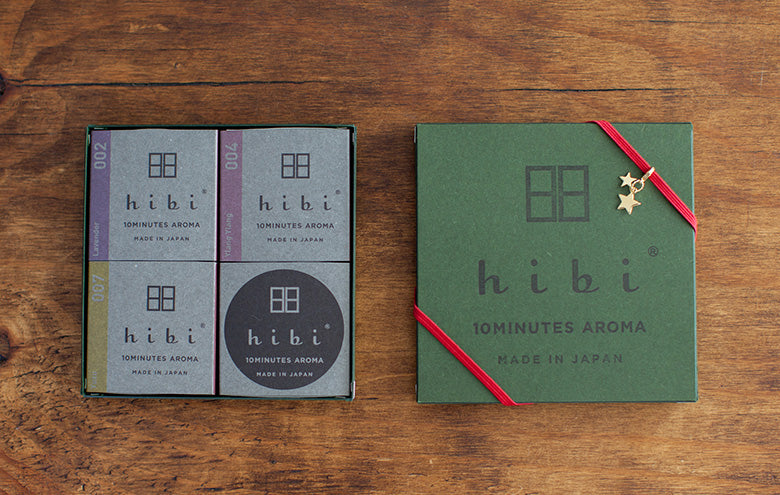 HIBI 10 Minute Incense Christmas Collection