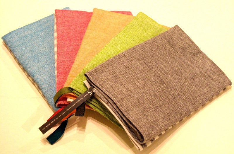 Square Border Towels by Yoshii Towels