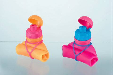 Collapsable Silicone Bottles by VIV