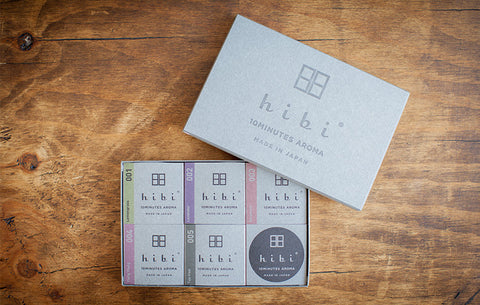 HIBI Gift box of 5 fragrances