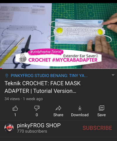 Subscribe, Like & Share Pinkyfrog Youtube Channel