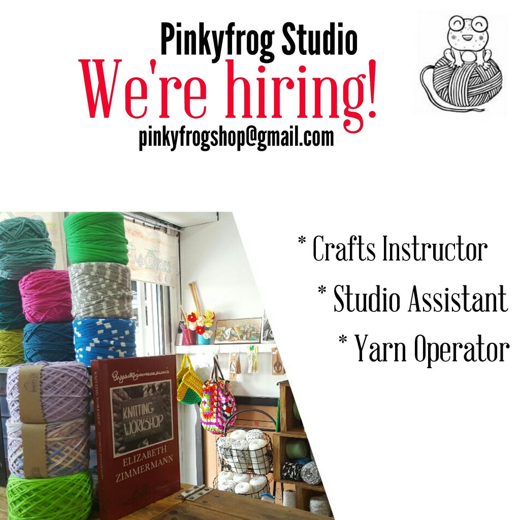 Join Team Pinkyfrog Studio.