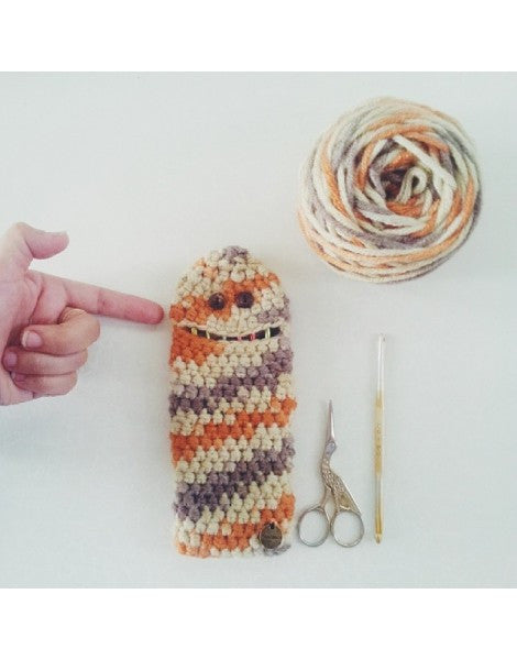 PATTERN Crochet :Ewok Monster Crochet Hooks Case. (Pattern in PDF format) - Pinkyfrogshop: Yarn Shop - JOHOR Malaysia