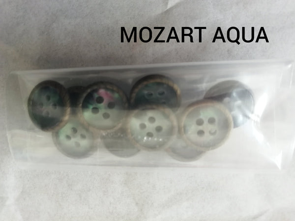 Button plain 10pcs / pack