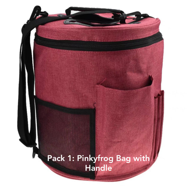 (PREORDER 10DAYS) Pinkyfrog Yarn Storage Bag