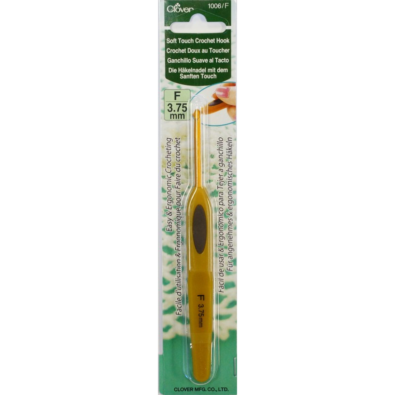 Clover Soft Touch Crochet Hook perpcs.