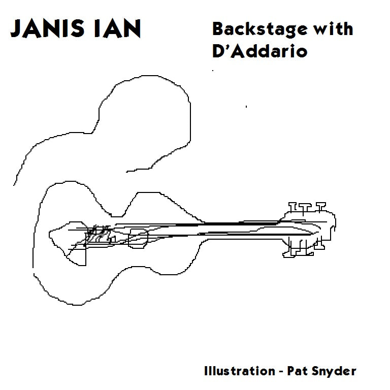 Janis Ian backstage interview with D'Addario