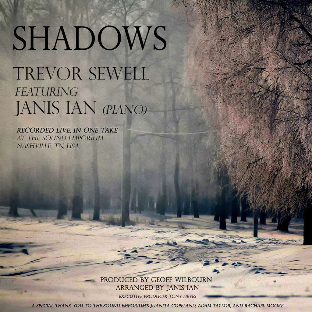 Shadows by Trevor Sewell feat. Janis Ian (piano) <br>- MP3 Digital Download *100% to the Pearl Foundation!