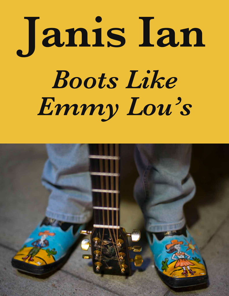 Boots Like Emmy Lou's - Sheet Music