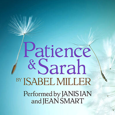 "Patience & Sarah-Audiobook (W/ Jean Smart) BACK IN STOCK! <img src=""//cdn.shopify.com/s/files/1/1318/7215/files/grammylogo30.png?v=1475430688"" alt=""Grammy Award Winner"" /> <img src=""//cdn.shopify.com/s/files/1/1318/7215/files/audiesmall.png?v=1526224842"">"
