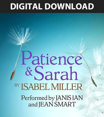 "Patience & Sarah - Audiobook Download (with Jean Smart) <img src=""//cdn.shopify.com/s/files/1/1318/7215/files/grammylogo30.png?v=1475430688"" alt=""Grammy Award Winner"" /> <img src=""//cdn.shopify.com/s/files/1/1318/7215/files/audiesmall.png?v=1526224842"">"