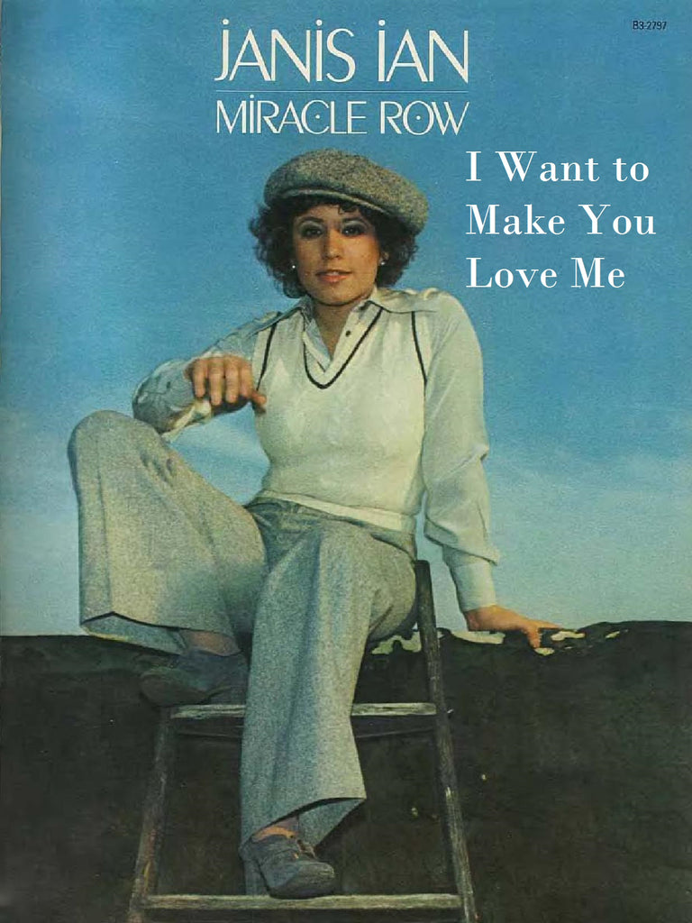I Want To Make You Love Me - Sheet Music