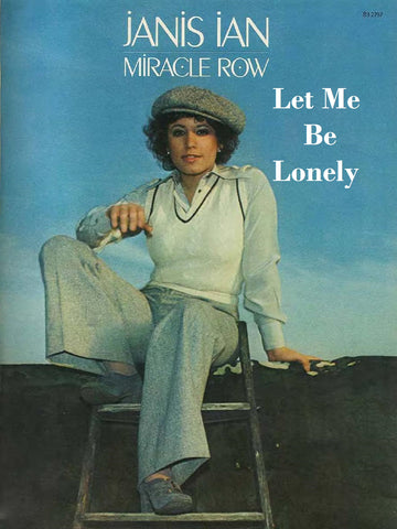 Let Me Be Lonely - Sheet Music