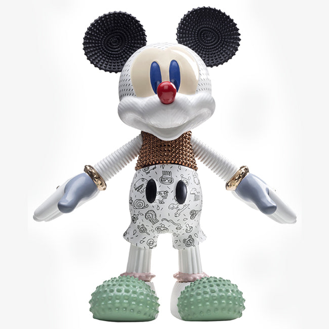 Mickey Mouse Ceramic sculpture