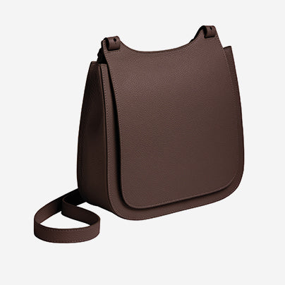 Chi Chi Fan - Crossbody Bag - Brown