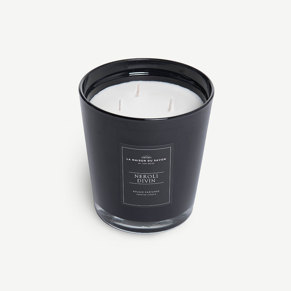 Scented candle L: Neroli Divin