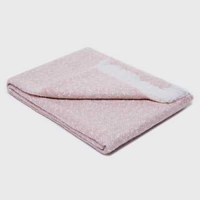 Biederlack blanket Light Pink