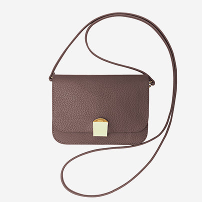 Chi Chi Fan - Flap Bag Quer - Brown