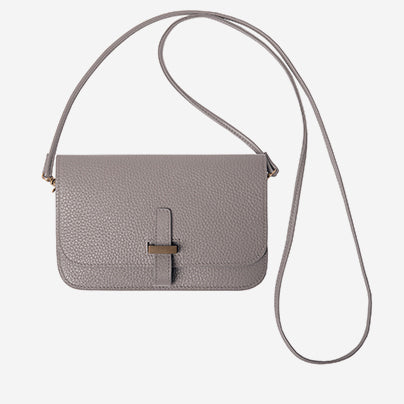 Chi Chi Fan - Flap Bag - Light Grey