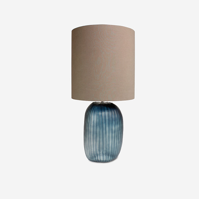 Patara Tall Ocean Blue/Indigo Table Lamp