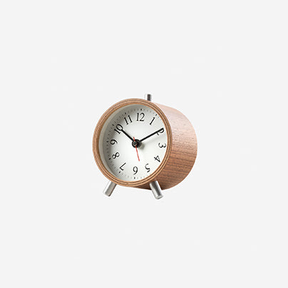 Diamantini & Domeniconi - Normal Alarm Clock - Walnut