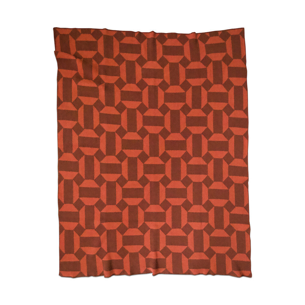 ECO COTTON THROWS - august-terracotta