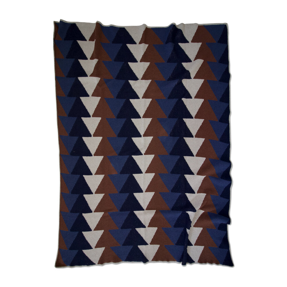 ECO COTTON THROWS - stacked-slate
