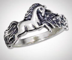 rennaissance art horse ring for horse lovers at horse lane