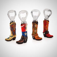cowboy boot bottle openers, gifts for horse lovers from horse lane