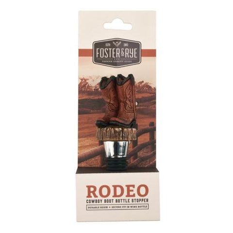 Cowboy Boot Stopper by Foster and Rye