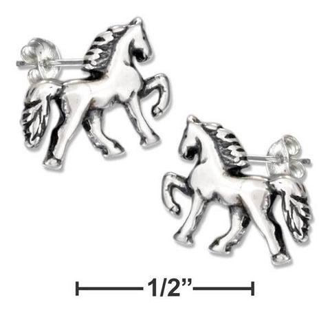 saddle horse earrings gifts for horse lovers at horse lane 2