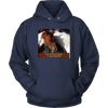 Image of Horse Hoodie, Life w/o Horses is Unacceptable