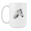 Image of White Horse Coffee Mug