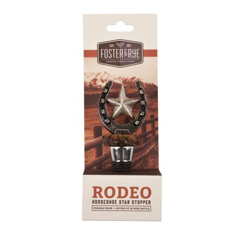 Horseshoe Bottle Stopper by Foster and Rye