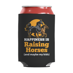 Happiness Is Raising Horses Kan Koozie