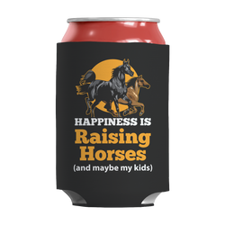 Happiness Is Raising Horses - Insulated Can Wrap