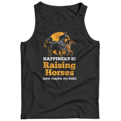 Happiness Is Raising Horses - Tank Top