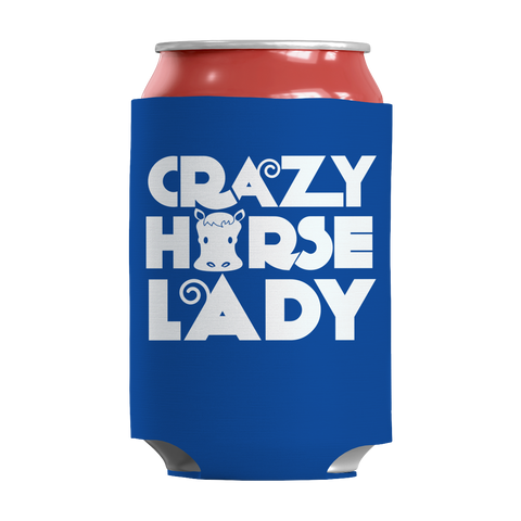 horse-gifts-crazy-horse-lady-can-koozie-royal-blue