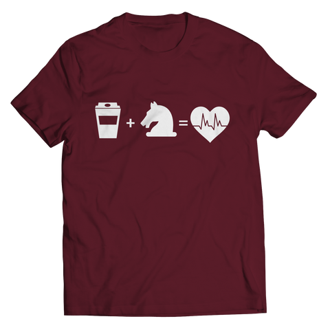Coffee + Horses Unisex T-Shirt