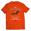 Image of horseaholic-t-shirts-unisex-orange