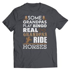 Real Grandpas Ride Horses Unisex T-Shirt