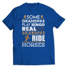 Image of Real Grandpas Ride Horses Unisex T-Shirt