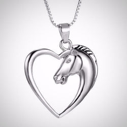 Stallion Heart Necklace