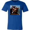 Image of Horse Portrait T-shirt, What Are You Looking At?